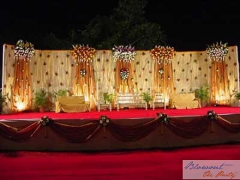 Hindu Wedding Mandap Floral Decorations 1